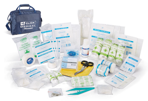 Advanced Team Sports First Aid Kit In Large Bag