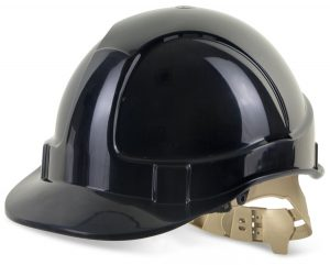 B-Brand Vented S/Helmet Black