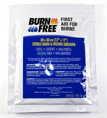 Burn Free Dressing 30 X 30Cm