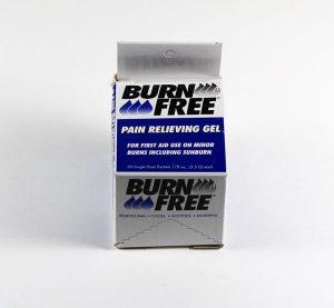Burn Gel Sachets 20 Per Box