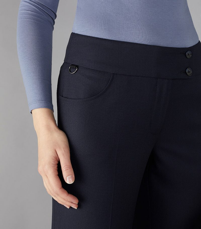 CLUBCLASS WOLFE TAILORED FIT TROUSERS