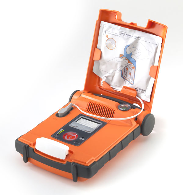 Cardiac Science G5 Aed Semi Automatic Defibrillator With Cpr Device