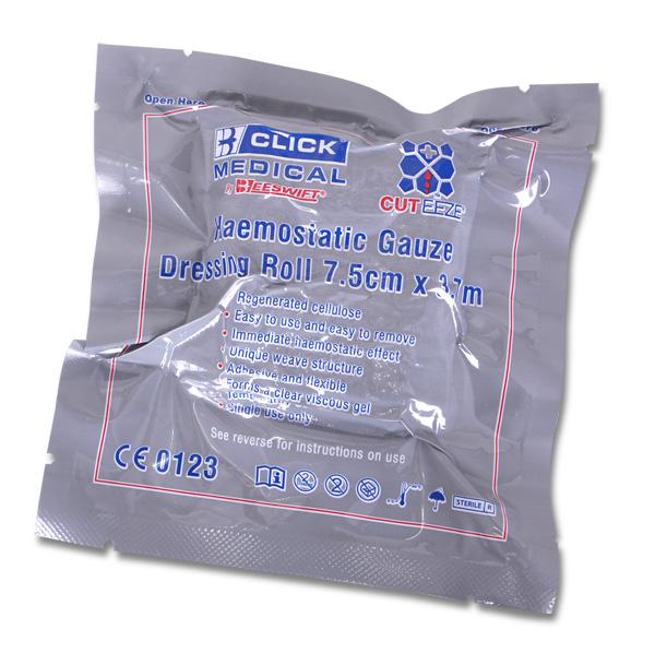 Click Medical Cut Eeze Haemostatic Gauze Roll