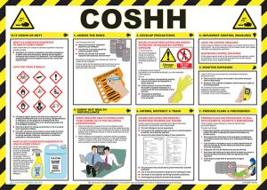 Coshh Safety Poster A704