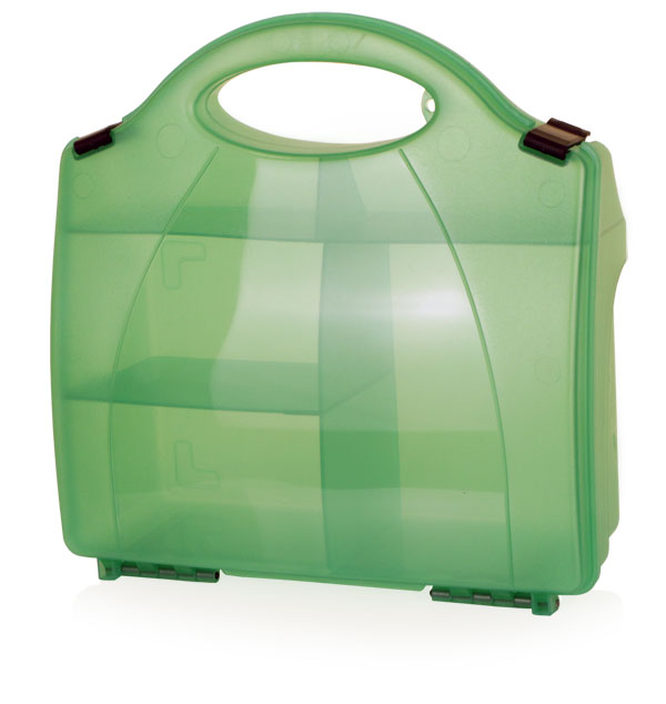 First Aid 851 Green Eclipse Box With Partitions