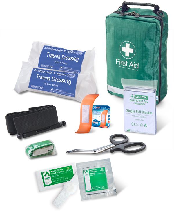 First Aid Bag Bs8599 1 2019 Critical Injury Pack Medium Risk