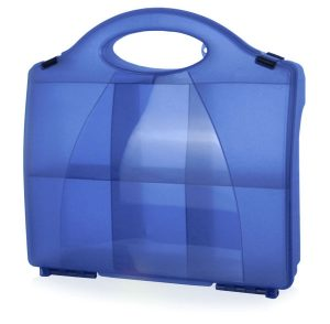 First Aid Blue Eclipse Box With Partitions 861