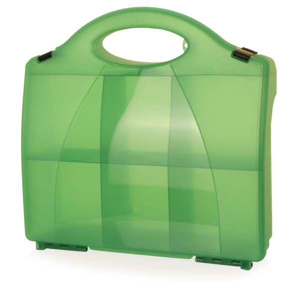 First Aid Green Eclipse Box With Partitions 861