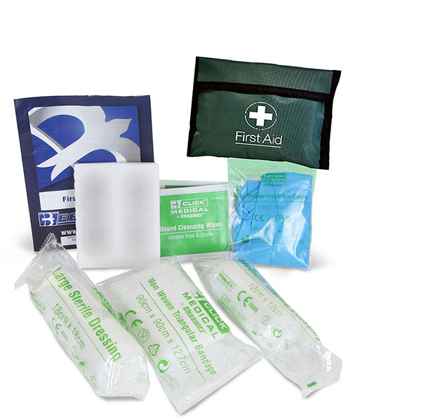 First Aid Hse One Person Kit In Pvc Pouch