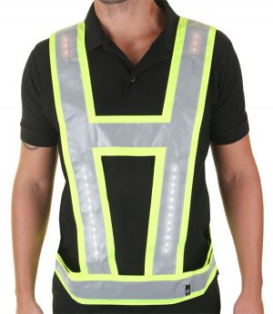 Harness Yellow With Red Lights Shoulder And Back 20161100040