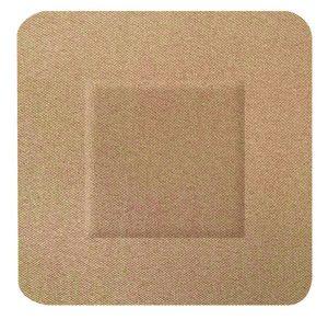 Hygio Plast Fabric Plasters 100 Square 38X38Mm