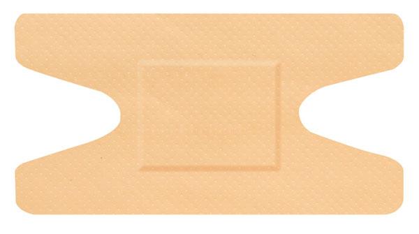 Hygio Plast Waterproof Plasters Knuckle Box of 50