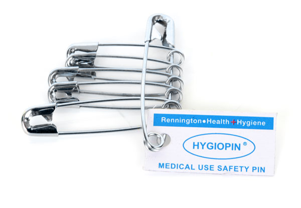 Hygio Safety Pins Pack of 6