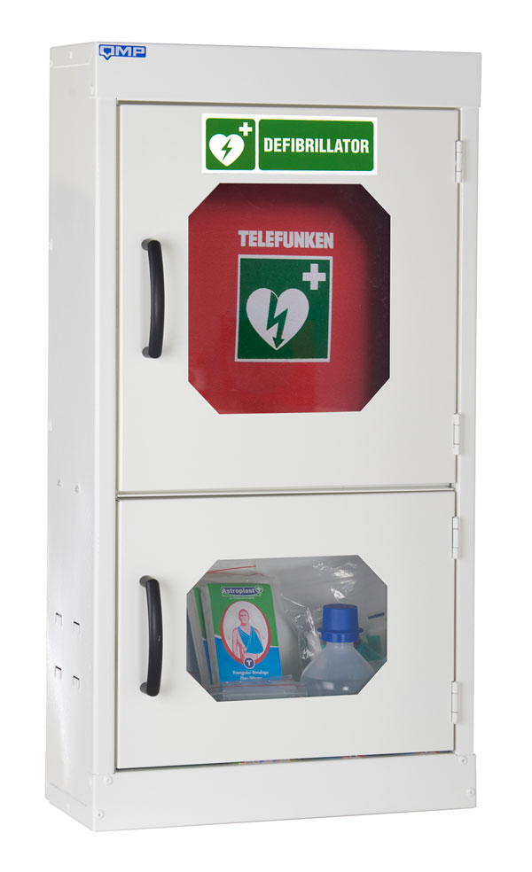 Indoor Defibrillator And First Aid Cabinet