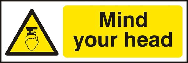 Mind Your Head Sav (Pk5) 300Mm X 100Mm