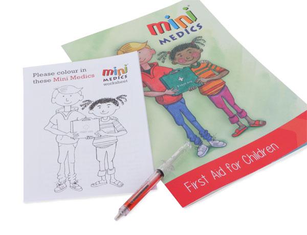Mini Medics Kids First Aid Pack Pen