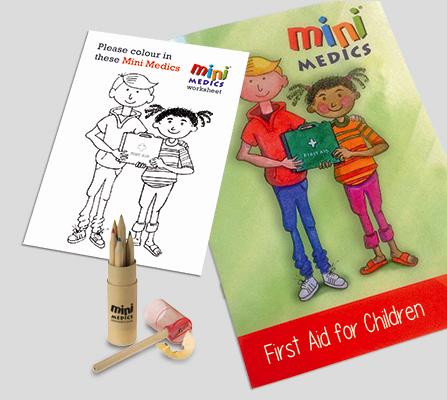 Mini Medics Kids First Aid Pack Pencil