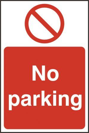 No Parking Rpvc (Pk5) 200Mm X 300Mm