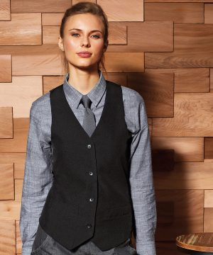 PREMIER LADIES POLYESTER LINED WAISTCOAT