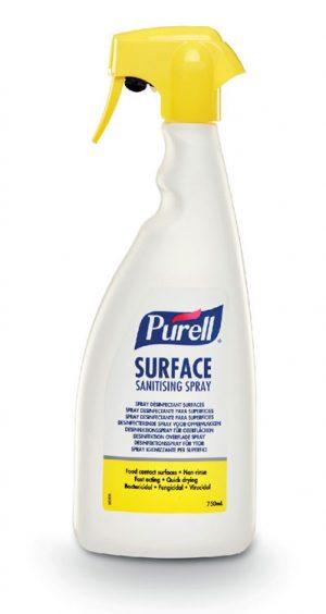 Purell Surface Sanitising Spray 750Ml