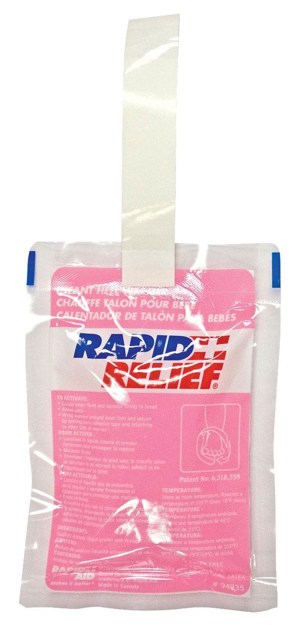 Rapid Relief Infant Heel Warmer