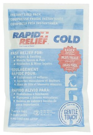 Rapid Relief Instant Cold Pack Gentle Touch Technology Large