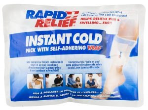 Rapid Relief Instant Cold Pack Self Adhering Wrap 5inch X 9inch