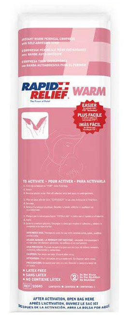 Rapid Relief Instant Warm Perineal Compress 5inch X 16inch