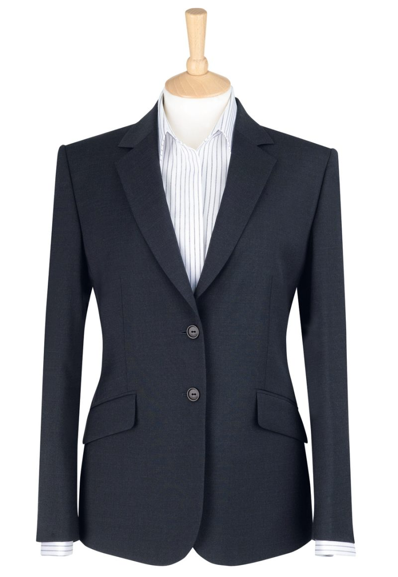 brook tavener hebe classic fit jacket charcoal