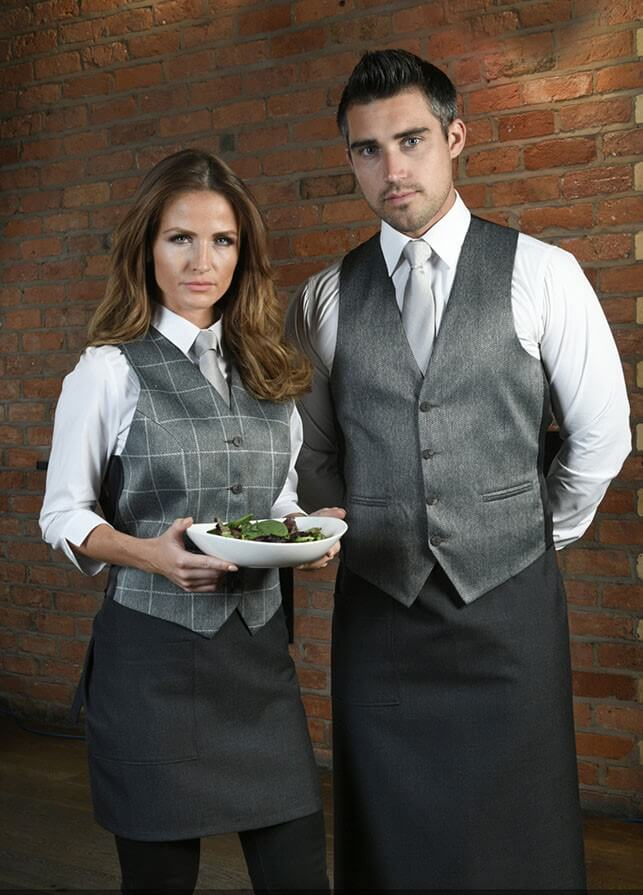 ladies gunmetal grey plain waistcoat