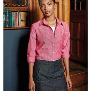 pr125 jeans stitch denim waist apron