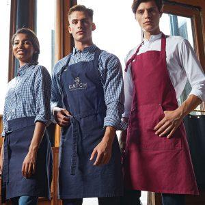 Calibre heavy cotton canvas bib apron