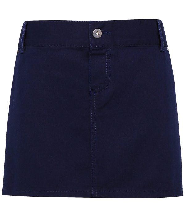 pr133 Chino cotton waist apron navy.jpg
