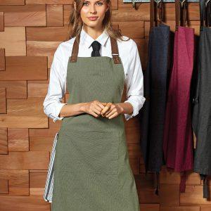 pr144 Annex Oxford bib apron