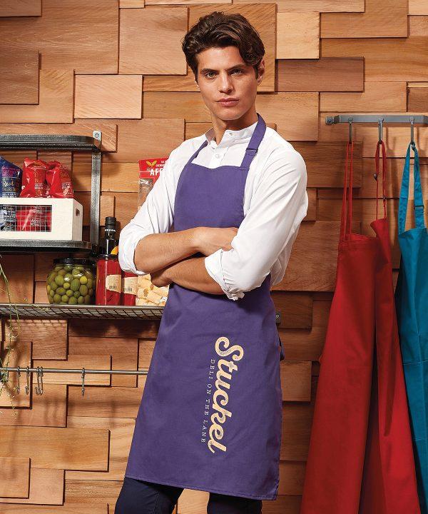 pr150 colours bib apron