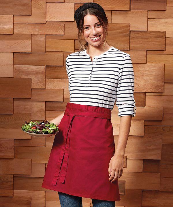 Colours mid-length apron