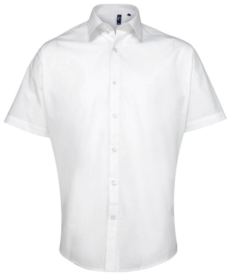 pr209 white Supreme poplin short sleeve shirt.jpg