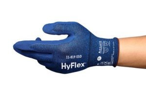 ANSELL HYFLEX 11-819 ESD TOUCHSCREEN GLOVE