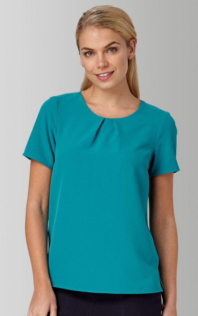 VORTEX LIBBY TOP WITH TUCK DETAIL
