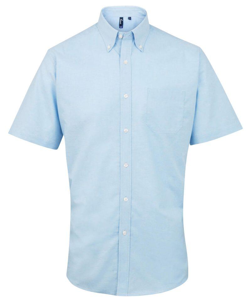 pr236 lightblue Signature Oxford short sleeve shirt.jpg