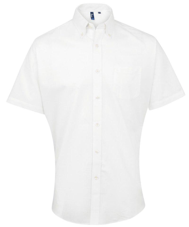 pr236 white Signature Oxford short sleeve shirt.jpg