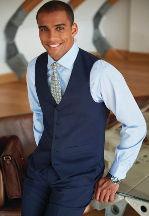 BROOK TAVERNER BUSSO WAISTCOAT SIGNATURE COLLECTION