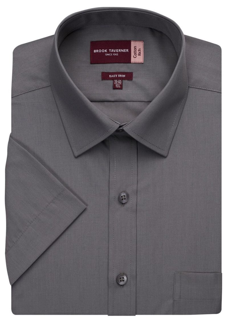 BROOK TAVERNER ROSELLO CLASSIC FIT SS SHIRT