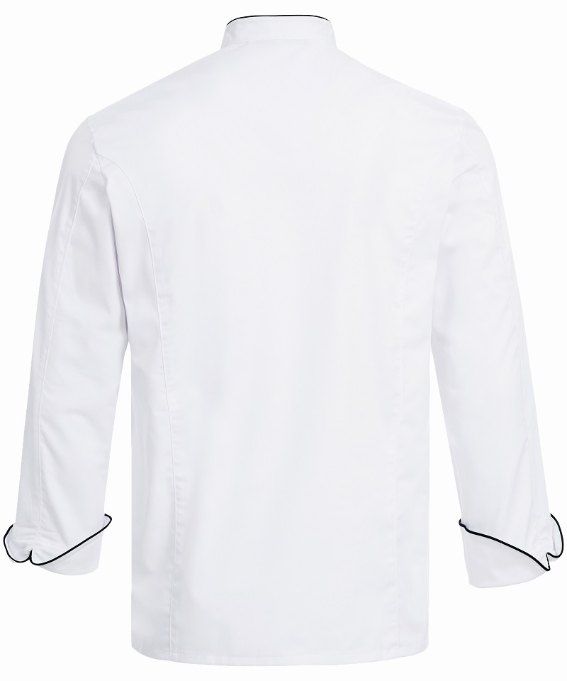 GREIFF CHEFS JACKET WITH PIPING