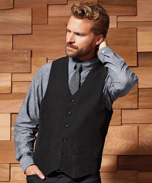PREMIER MENS POLYESTER LINED WAISTCOAT